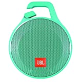 JBL Clip plus + Splashproof Portable Bluetooth Speaker (Teal) Bulk packaging