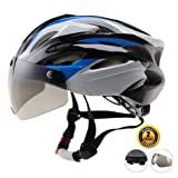 Easecamp Bike Helmet for Men(Blue) (Color: Blue)