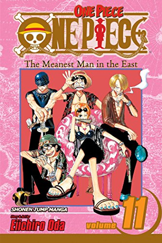 One Piece, Volume 11: The Meanest Man in the East (One Piece, #11)