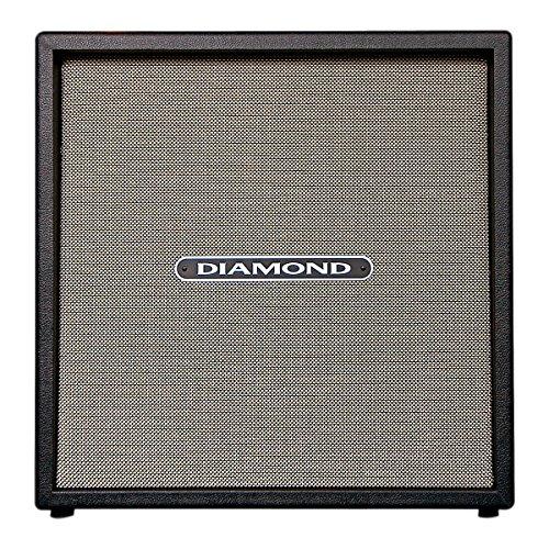 Diamond Amplification Cc412Btc Custom 4 X 12 Inches Cabinet - Black And Tan Cloth Grill