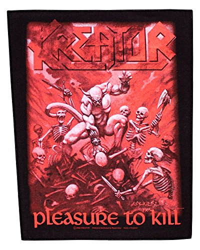 Kreator toppa Pleasure to Kill Helloween