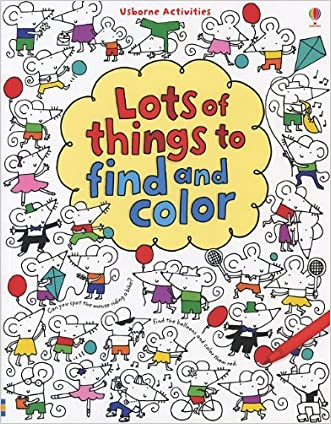 Lots of Things to Find and Color (Usborne Activities)