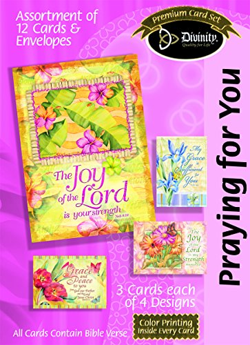 Divinity Boutique Greeting Card Assortment: Praying for You, Flowers and Verse with Scripture (21715N) PDF