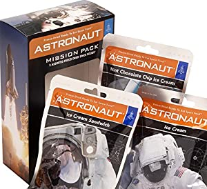 Funkyfoodshop Astronaut Mission Pack and Ice Cream Space Food 7 Ounce
