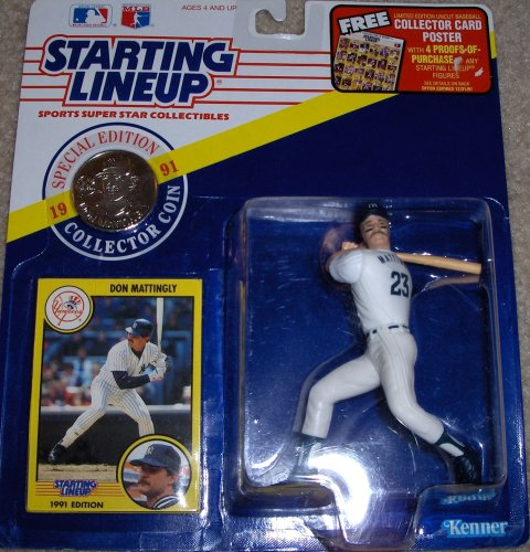 Don Mattingly 1991 MLB Starting Lineup