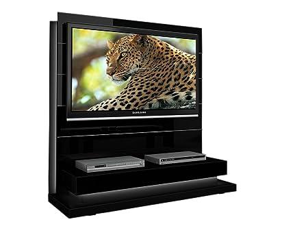 Triskom P3 TV Stand for LCD, LED or Plasma Screens 32, 37, 40, 42, 46, 47, 50, 52, 55 inch by SAMSUNG, SONY, LG, PANASONIC, PHILIPS, TOSHIBA, JVC. (Black Gloss)