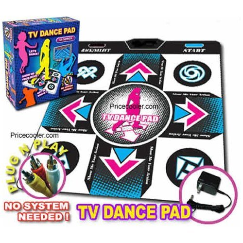 Dance Dance Revolution Plug And Play Game Pad with Power Adapter- DDR Gaming