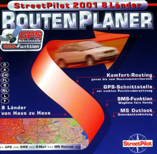 StreetPilot-2001-8-Lnder-2-CD-ROMs-in-Jewelcase-Routenplaner-Fr-Windows-95982000NT-40-8-Lnder-von-Haus-zu-Haus-D-A-CH-FL-B-NL-L-F-Mit-Hausnummern-GPS-Schnittstelle-SMS-Funktion-u-MS-Outlook-Datenbanka