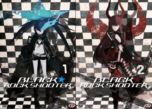 Black Rock Shooter - Serie Completa (Eps 01-08) (2 Dvd)