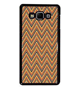 PrintDhaba Pattern D-5207 Back Case Cover for SAMSUNG GALAXY A7 (Multi-Coloured)
