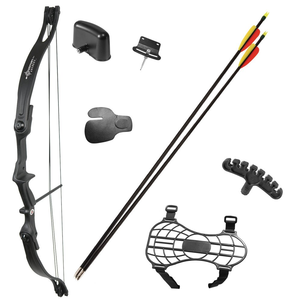 Hunting With Bow And Arrow Drawing Compound Bow by Crosman