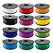 XYZprinting ABS Filament, 1.75 mm Diameter, 600g Cartridge
