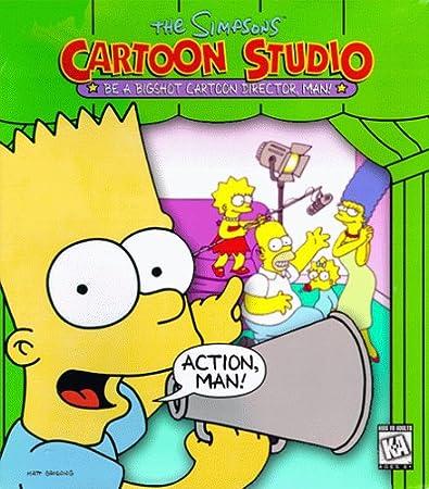 Simpsons Cartoon Studio