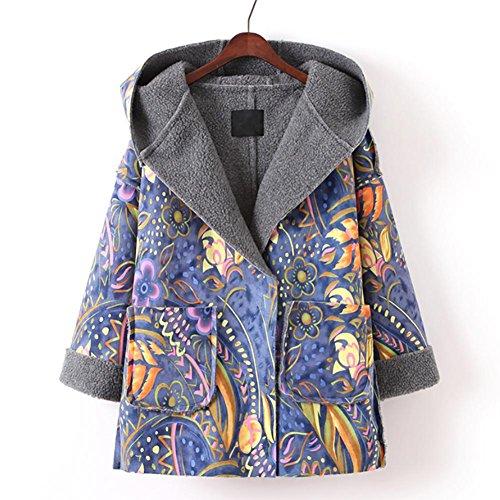 YUYU-Veste-dimpression-des-femmes-Hoodie-Ultra-Light-Winter-Coat