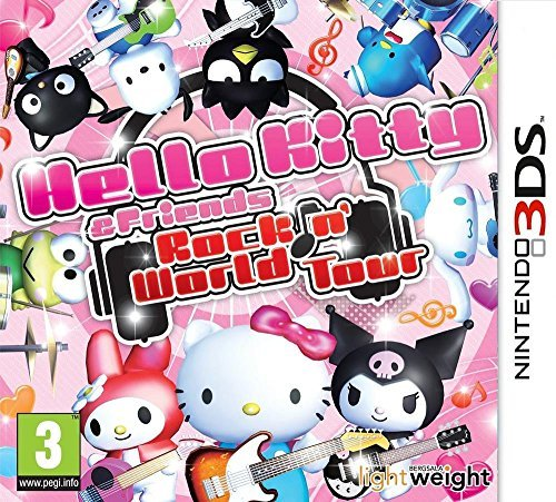 Hello Kitty and Friends: Rocking World (Nintendo 3DS) by Rising Star Games