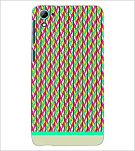 HTC DESIRE 826 PATTERN Designer Back Cover Case By PRINTSWAG