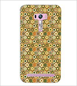 PrintDhaba Pattern D-5336 Back Case Cover for ASUS ZENFONE SELFIE ZD551KL (Multi-Coloured)