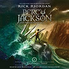 The Lightning Thief: Percy Jackson and the Olympians, Book 1 Audiobook by Rick Riordan Narrated by Jesse Bernstein