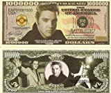 Novelty Dollar Elvis Aaron Presley King Of Rock N Roll Dollar Bills X 4