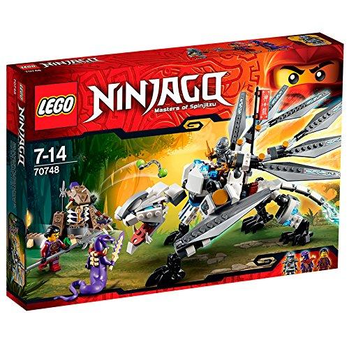 レゴ ニンジャゴー チタニウムドラゴン 70748