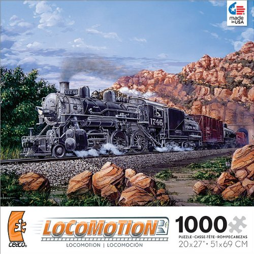 Locomotion: Morning Run - 1000 Piece Jigsaw Puzzle