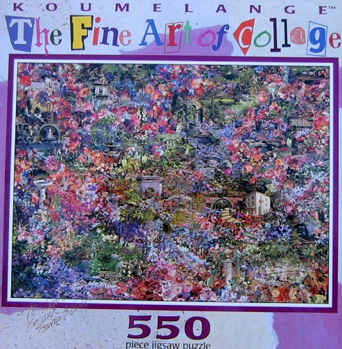 Fine Art of Collage 550pc. Puzzle-Symphonic Tapestry