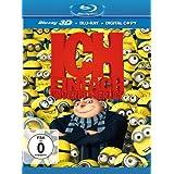 """Ich - Einfach unverbesserlich Limited Edition im Schuber (2D + 3D Version, Blu-ray 3D)von """"Pierre Coffin"""""""