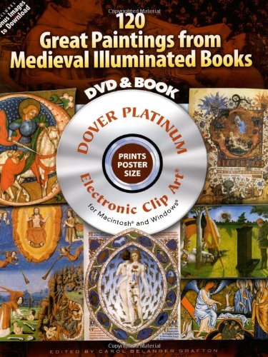 120 Great Paintings from Medieval Illuminated Books (Platinum CD-ROM and Book Sets)