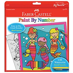 Faber Castell Faber and Castell Paint by Number Mermaids