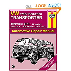 Volkswagen Transporter 1700, 1800, and 2000, 1972-79 (Haynes Manuals) J. H. Haynes and K. F. Kinchin