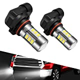 SEALIGHT 9006/HB4 LED Fog Lights Bulbs, DOT Approved, Xenon White 6000K, 27 SMD (Pack of 2) (Tamaño: 9006/HB4)