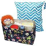 KF Baby-Organizador de pañales (12x 4,8x 8) + Wet Dry Bag Value Combo