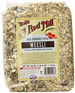 Bob's Red Mill Old Country Style Muesli, 40-oz. Bags (Count of 4)