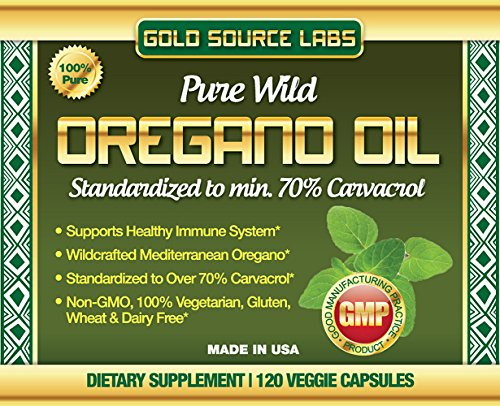 100-Pure-Wild-Oregano-Oil-120-Liquid-Veggie-Capsules-Standardized-Extract-with-32-mg-of-Carvacrol-over-70-by-Gold-Source-Labs