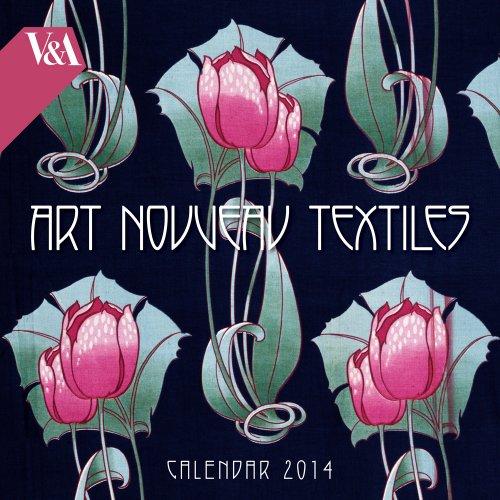 V&A Art Nouveau Textiles 2014 Square 12x12 Flame Tree