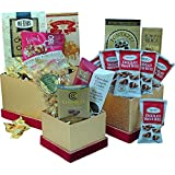 Art of Appreciation Gift Baskets All Sweets and Treats Gourmet Food and Snacks Gift Tower