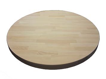 ilegno tischplatte kirschbaum massiv holz rund d 800. Black Bedroom Furniture Sets. Home Design Ideas
