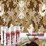 MyDipKit Desert Digital Camouflage Hydrographics Kit MC-821 - My Dip Kit
