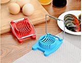 AOHAO 2 Pack Egg Slicer , Stainless Steel Cutting Wires,Mushroom Tomato Kitchen Chopper, Multi Purpose Slicer