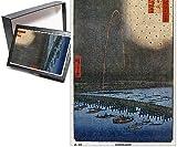 Photo Jigsaw Puzzle of Fireworks at Ryogoku by Utagawa Hiroshige (Edo series)