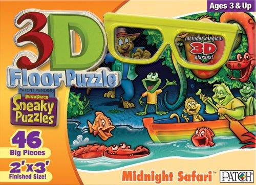 Cheap Fun Patch 3D Sneaky Puzzle Midnight Safari (B003BLQG5I)