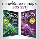 Growing Marijuana: Box Set: Growing Marijuana for Beginners & Advanced Marijuana Growing Techniques Audiobook by  ClydeBank Alternative Narrated by Amy Barron Smolinski, Kevin Kollins