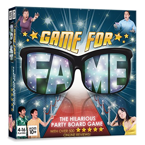 Game for Fame Party Board Game for Families, Adults and Teens