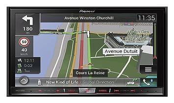 Pioneer AVIC-F70DAB GPS Bluetooth Noir