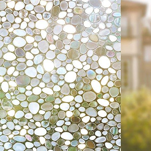 rabbitgoo 3d statische fensterfolie fensterschutzfolie dekorfolie sichtschutzfolie. Black Bedroom Furniture Sets. Home Design Ideas