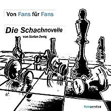 Die Schachnovelle Audiobook by Stefan Zweig Narrated by Anna Hartmann