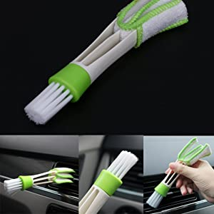 Double Ended Car Cleaning Brush Ventilation Blinds Cleaner Tool