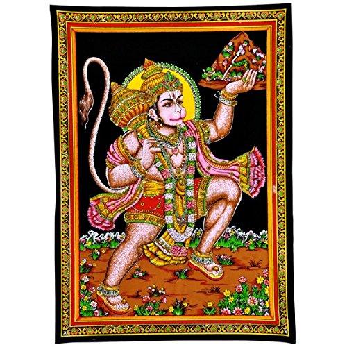 Gangesindia-Shri-Bajrangbali-Hanuman-Cotton-Tapestry