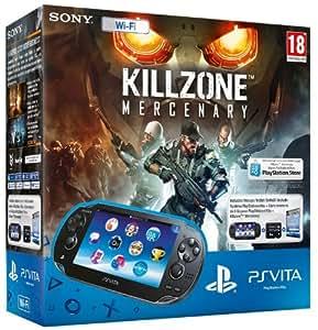 Console Playstation Vita Wifi +voucher Killzone Mercenary + Carte Mémoire 8 Go