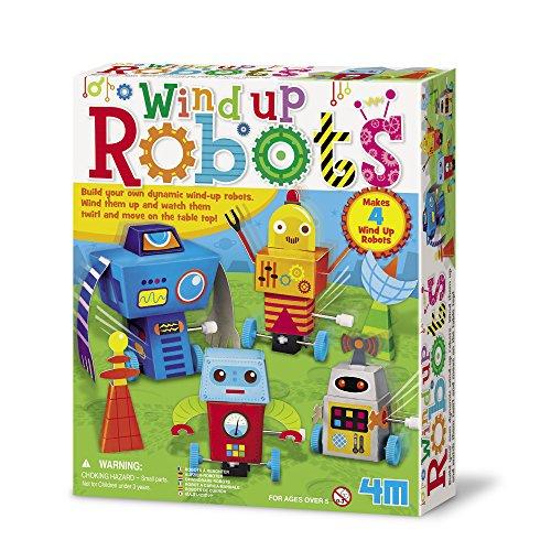 4M Wind Up Robots Kit